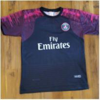 Camisa Infantil Paris Saint Germain
