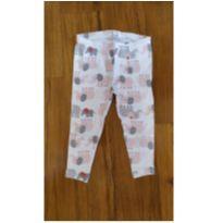 Calça Elefantinhos - 9 a 12 meses - Carter`s