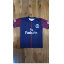 Camisa Infantil Paris Saint Germain