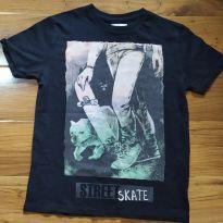 Camiseta Skate and Bull Dog