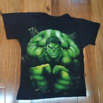 Camiseta Hulk - 6 anos - Piticas