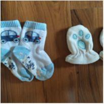 Luvinha + Meia Baby - 3 a 6 meses - Sem marca