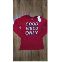 Camisa Good Vibes Only - 14 anos - Fuzarka