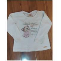 blusinha luxozinho - 1 ano - mini e banbino