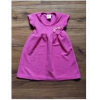 vestido pink matelassê - 1 ano - Jaki Malhas