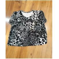 blusinha animal print - 1 ano - Sem marca