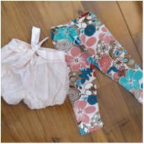 kit shorts e legging chic - 1 ano - sonia