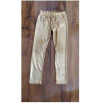 Legging Kids Dourada - 4 anos - Sem marca