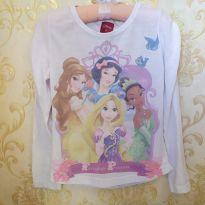 Blusa Princesas Disney - 6 anos - Disney