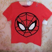 Camiseta Homem Aranha - 2 anos - MARVEL
