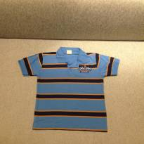 Camiseta Polo Listrada Racing - 2 anos - Angerô