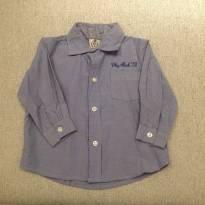 Camisa Manga Longa Listrada - 12 a 18 meses - Pupi