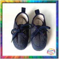 Tênis Bebê com Cadarço (Azul Marinho) (Cód. 072) - 03 - Baby Gut