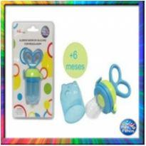 Alimentador de Silicone Azul com Regulagem (Azul) (Cód. 147) -  - Pais e Filhos