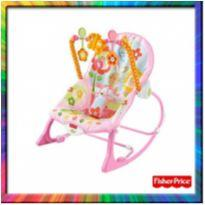 Cadeirinha de Descanso - FISHER PRICE - (Rosa) (Cód. 153) -  - Fisher Price