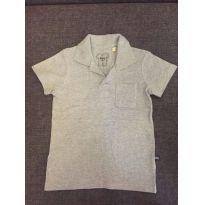 Blusa Polo Cinza - 3 anos - Não informada