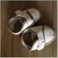 Sapato Bege - Solado 11 cm - 13 - Não informada