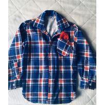 Camisa Xadrez - 4 anos - Não informada