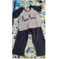 Pijama Calça e camiseta - 2 anos - Hering