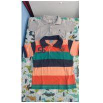 2 Camisetas Polo - 1 ano - Abrange