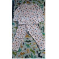 Pijama moletinho - 1 ano - Não informada