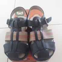 Sandália em couro - 24 - Ortopasso