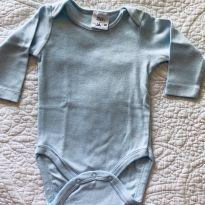 Body Zara Azul Bebê - 0 a 3 meses - Zara e Zara Baby