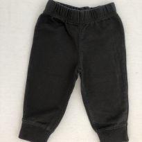 Calça Carter's Cinza Escuro - 3 a 6 meses - Carter`s