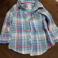 Camisa xadrez Carter`s 12 meses - 1 ano - Carter`s
