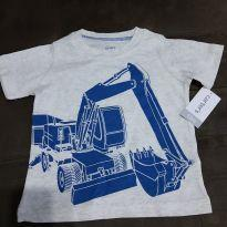 Camiseta Carter`s 12 meses - 1 ano - Carter`s