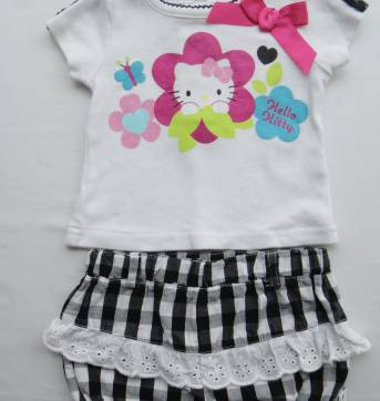 Conjunto Hello Kitty! - 0 a 3 meses - Hello Kitty by Sanrio