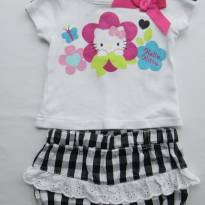 Conjunto Hello Kitty! - 0 a 3 meses - Hello Kitty by Sanrio