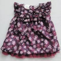 Vestido Floral - 3 meses - FAO (USA)