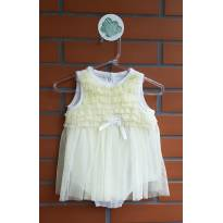 Vestido Body - 6 meses - Little Me