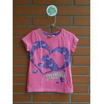 Camiseta - 4 anos - Puma