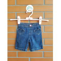 Bermuda Jeans - 6 meses - Jumping Beans