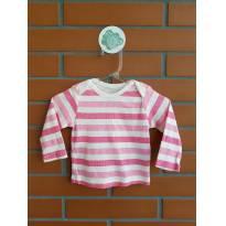 Camiseta Manga Longa - 6 meses - Baby Starters