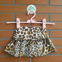 Saia Animal Print - 1 ano - Carter`s