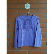 Camiseta Manga Longa - 5 anos - GAP