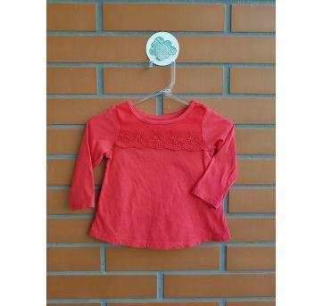 Camiseta Manga Longa - 3 a 6 meses - First Impressions
