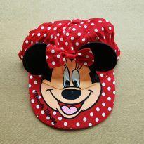 Boné - Minnie - Único - Disney