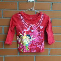 Camiseta Manga Longa - 1 ano - Disney