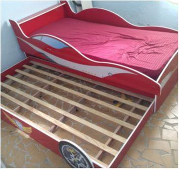 Cama meninos carros - Sem faixa etaria - Gelius