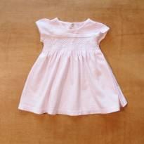 Vestido em Algodão - 3 meses - Paola BimBi