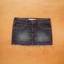 Saia Jeans - 12 anos - Abercrombie