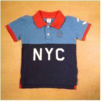 Camisa Polo Infantil Menino GAP 3 anos - 3 anos - GAP
