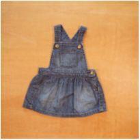 Jardineira Jeans GAP 6 - 12 meses - 6 a 9 meses - GAP