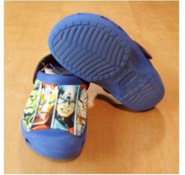 Crocs Azul Avengers Tam 26 (10/11) - 26 - Crocs
