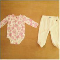 Conjunto Body Infantil + Calça 3-6m GAP - 3 a 6 meses - GAP