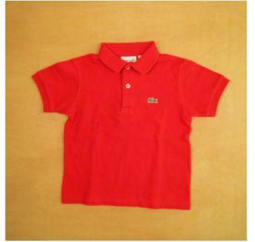 Camiseta Polo Lacoste Vermelha 4 anos - 4 anos - Lacoste